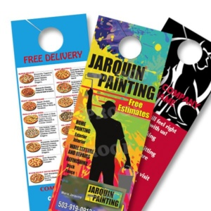 Door Hangers door hangers 1000 for $ 79 - free shipping, full color, card stock