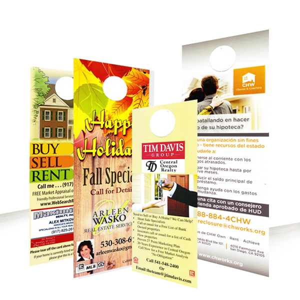 DOOR HANGERS BUSINESS CARD