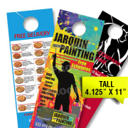Door Hangers 1000 for 79 FREE SHIPPING Full Color Card Stock