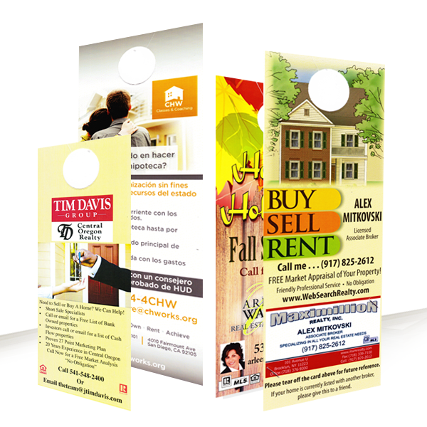 Door Hangers door hangers tall 1000 for $89 - the official door hanger website‎