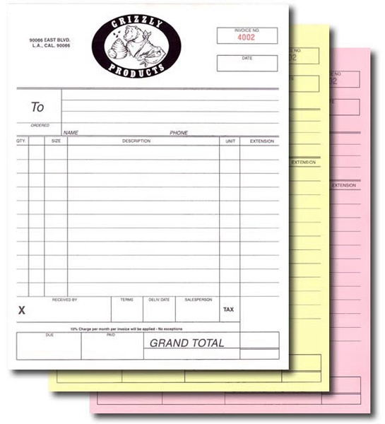 Carbonless NCR Forms | Cheapdoorhangers.com | NCR Forms